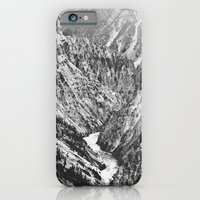 Canyon Black And White iPhone 6 Slim Case