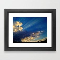 Skylights Framed Art Print