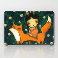 Riding My Fox iPad Case