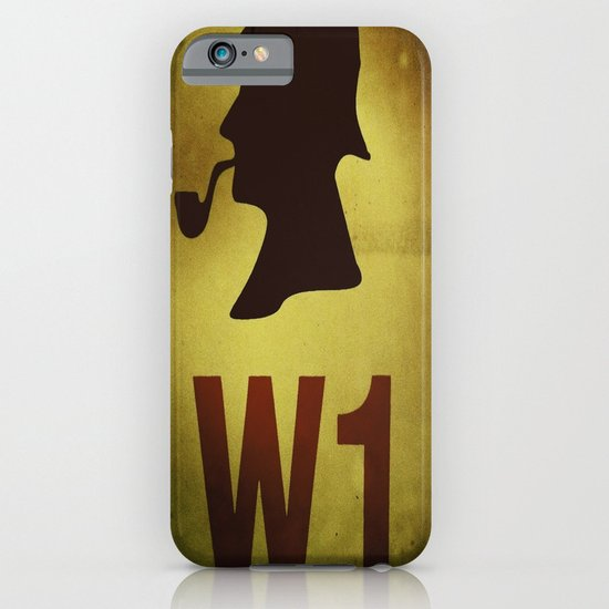 Hey Sherlock ! iPhone & iPod Case
