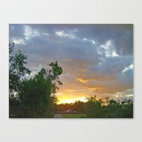 A Sunrise In Kentucky Canvas Print