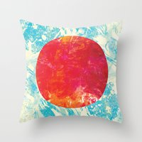 Life Round Here II Throw Pillow