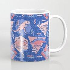 Nineties Dinosaurs Pattern  - Rose Quartz and Serenity version Mug