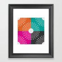 Beauty  multicolour Framed Art Print