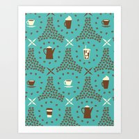 Coffee Hour Art Print