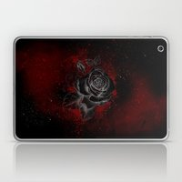 Black Rose Laptop & iPad Skin