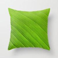 Green 8869 Throw Pillow