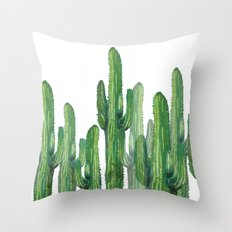 cactus 4 Throw Pillow