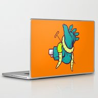 Laptop & iPad Skin featuring Pedicure Please by Artistic Dyslexia