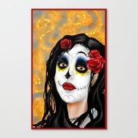 The Skull Princess Canvas Print