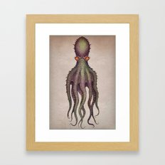 Gigantic Octopus Framed Art Print