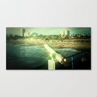 EMERGENCY CUBICLE KIT Canvas Print