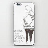 Hombre Mariposa iPhone & iPod Skin