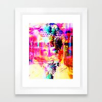 The Lecture and the Occupancy Framed Art Print