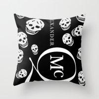 God Save ALEXANDER McQue… Throw Pillow