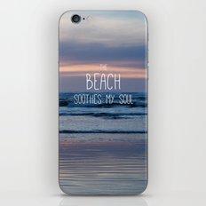 Beach Glow iPhone & iPod Skin