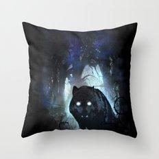 Stalker Throw Pillow