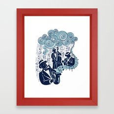 Got the Blues Framed Art Print