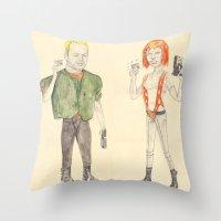 MULTIPASS Throw Pillow