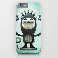 iPhone & iPod Case featuring  Alien Guard by Exit Man
