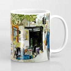 Homeless Series 5 ~ Sunset Blvd., Los Angeles, CA. Mug