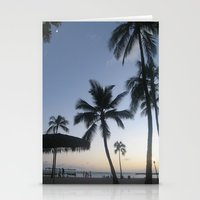 Blue Hawaiian Sunset Stationery Cards