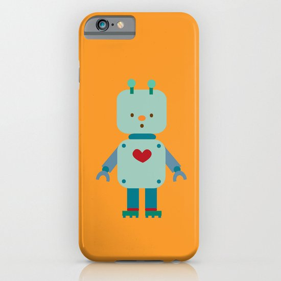 Robot iPhone & iPod Case