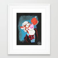 Who Dis Doctor 3 Framed Art Print