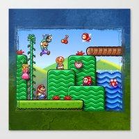 Super Mario 2 Canvas Print