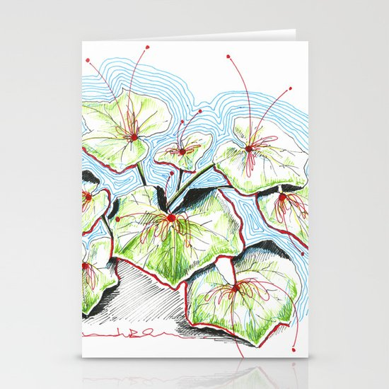 Plenty of Plants Stationery Card