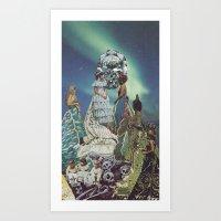 AlcheMiss USA Art Print