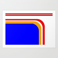 RennSport Vintage Veries… Art Print