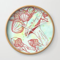 Forest Finds Wall Clock