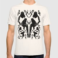 Rorshach Vacation Mens Fitted Tee Natural SMALL
