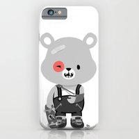 iPhone & iPod Case featuring Bruised Bear by Albert Lee