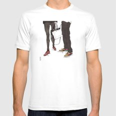 Mismatched, But Not Incompatible by Kat Mills Mens Fitted Tee White SMALL