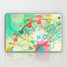 Panoramic carnival ferris wheel Laptop & iPad Skin