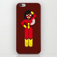 Spider Woman iPhone & iPod Skin