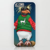 Rockhopper Penguin in Ugly Christmas Sweater iPhone 6 Slim Case