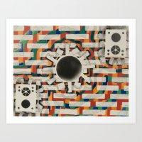 RGB Colorfield Art Print