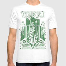 Another World's Fair White SMALL Mens Fitted Tee