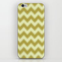 Chevron Gold Berry iPhone & iPod Skin