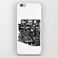 Typographic Arizona iPhone & iPod Skin