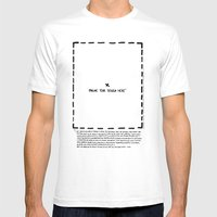 More Than Conceptual Mens Fitted Tee White SMALL