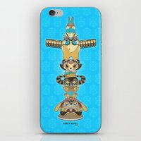 RUFUS TOTEM iPhone & iPod Skin