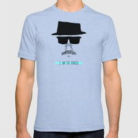 I am the danger. Mens Fitted Tee Tri-Blue SMALL