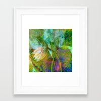 lotus2 Framed Art Print
