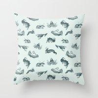 Ephemera Zoo Throw Pillow