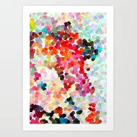 Art Print featuring Please, Please, Please by Three Of The Possess…