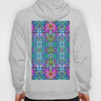 Fractal Art Stained Glass G372 Hoody